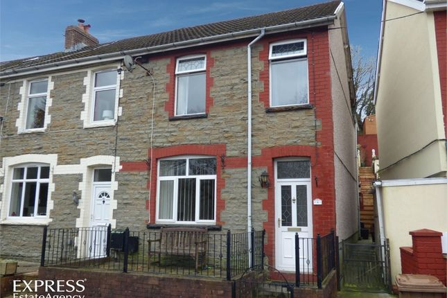 Thumbnail End terrace house for sale in Kennard Terrace, Crumlin, Newport, Caerphilly