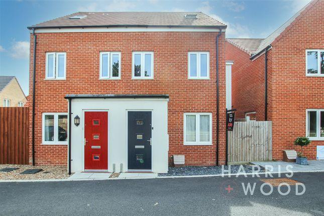 Thumbnail Semi-detached house for sale in Destination Drive, Colchester