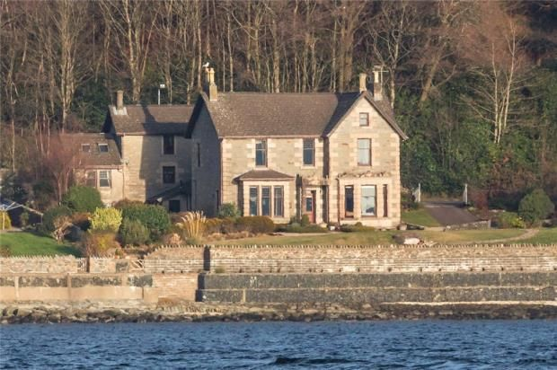 Thumbnail Detached house for sale in Dunclutha House, Strone, Dunoon, Argyll And Bute