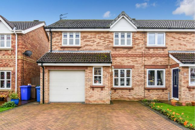 Thumbnail Semi-detached house for sale in Potter Close, York