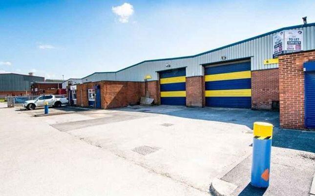Light industrial to let in Unit 4, Beckbridge Industrial Estate, Ripley Drive, Normanton, West Yorkshire