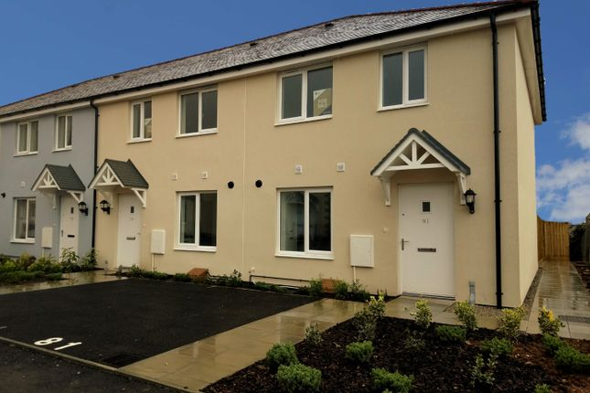 Thumbnail Semi-detached house for sale in Plot 157, Penn An Dre, Truro, Cornwall