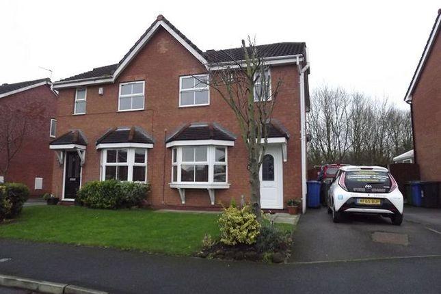 Thumbnail Semi-detached house to rent in Chelsea Gardens, Great Sankey, Warrington