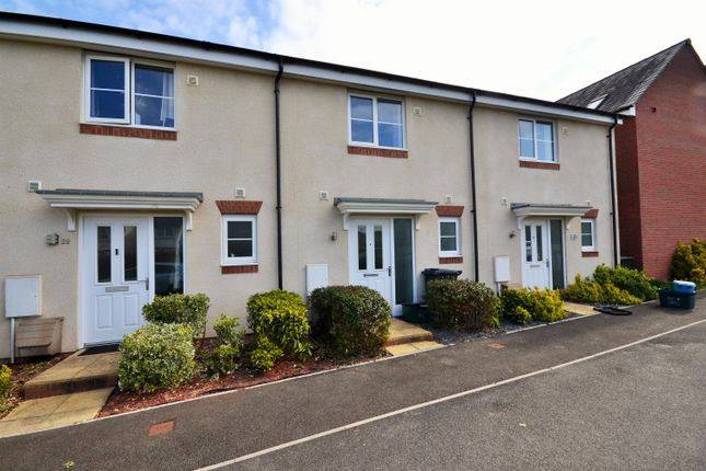 2 bed terraced house to rent in Burrough Fields, Cranbrook, Exeter EX5