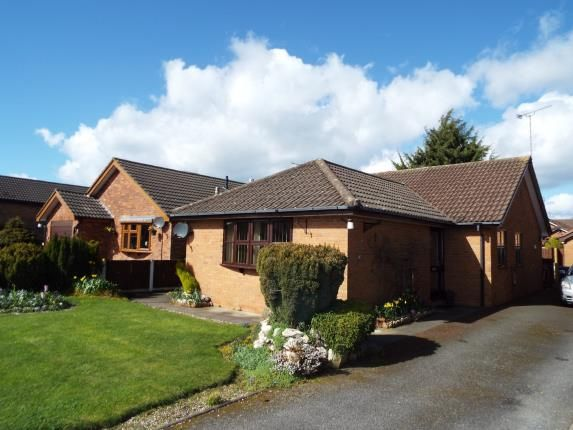Thumbnail Bungalow for sale in Sycamore Close, Uttoxeter, Staffordshire