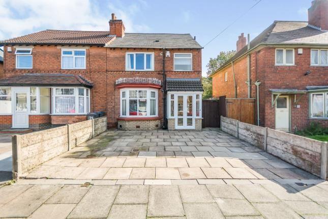 Thumbnail Semi-detached house for sale in Howard Road, Yardley, Birmingham, West Midlands