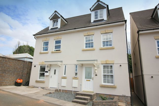 Thumbnail Semi-detached house for sale in Paddock Close, Pillmere, Saltash