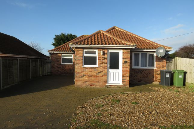 Thumbnail Detached bungalow for sale in Norwich Street, Mundesley, Norwich