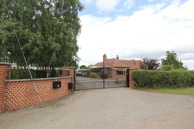 Thumbnail Detached bungalow for sale in Hodsock Croft, Hodsock Lane, Carlton-In-Lindrick, Worksop, Nottinghamshire