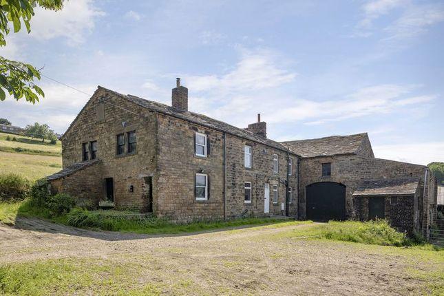 Thumbnail Farmhouse for sale in Ings Farm, Ings Lane, Thornhill, Dewsbury