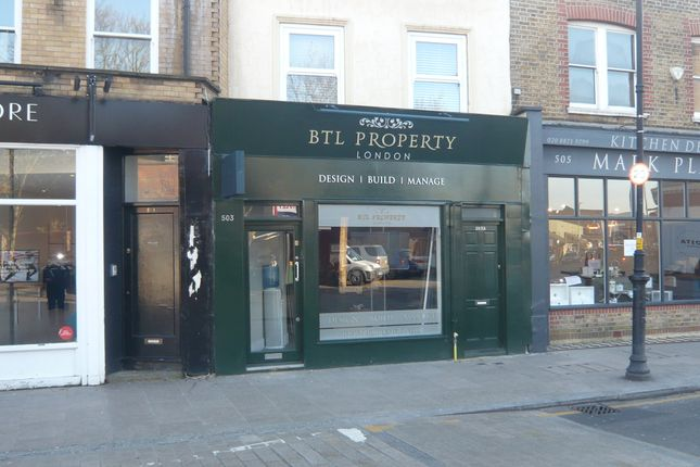 Thumbnail Retail premises to let in 503 Old York Road, Wandsworth Town