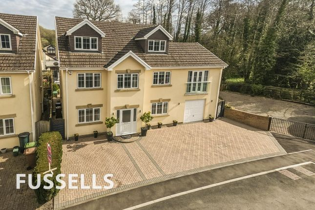 Thumbnail Detached house for sale in The Meadows, Machen, Caerphilly