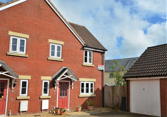 Thumbnail Semi-detached house for sale in Cannington Road, Witheridge, Tiverton