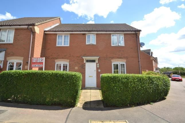 Thumbnail Semi-detached house for sale in Reservoir Close, Irthlingborough, Wellingborough, Northamptonshire