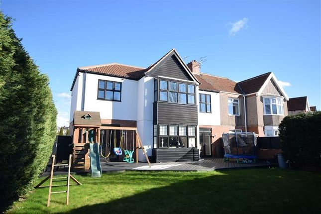 Thumbnail Semi-detached house for sale in Holmfield Avenue, South Shields
