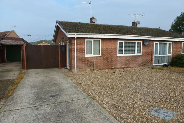 Thumbnail Semi-detached bungalow to rent in Curtis Drive, Feltwell, Thetford