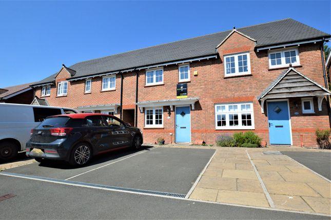 Thumbnail Terraced house to rent in Harrier Avenue, Penallta, Hengoed