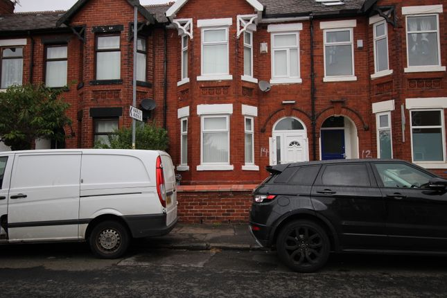 Thumbnail Terraced house for sale in Belgrave Avenue, Victoria Park, Manchester
