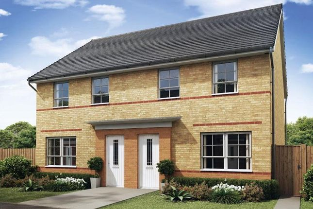 "Semi-detached house for sale in ""Maidstone"" at Hebron Avenue, Pegswood, Morpeth"