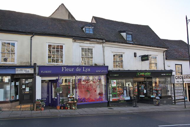 Thumbnail Retail premises for sale in The Centre, High Street, Halstead