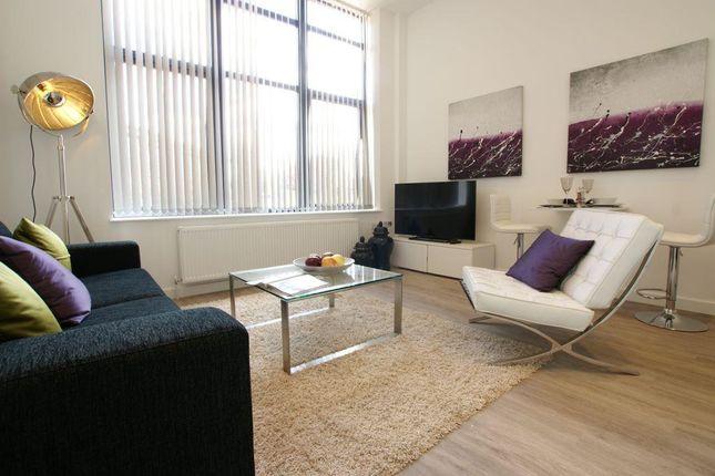 Thumbnail Flat to rent in Bellmont Lodge, Mundells, Welwyn Garden City