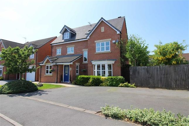 Thumbnail Detached house for sale in Darraway Gardens, Chellaston, Derby