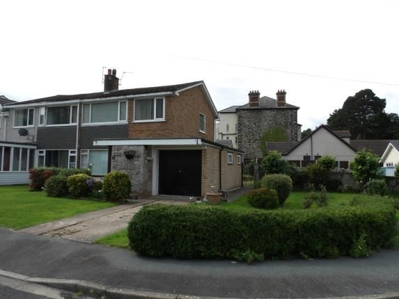 Front of Garth Wen, Llanfairfechan, Conwy LL33