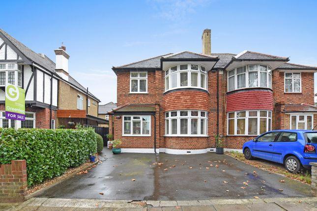 3 bed semi-detached house for sale in Elgar Avenue, Surbiton, Surrey