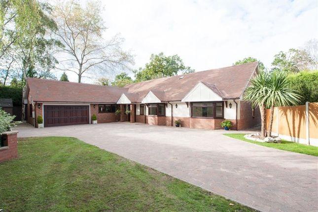 Thumbnail Detached bungalow for sale in Roman Road, Little Aston