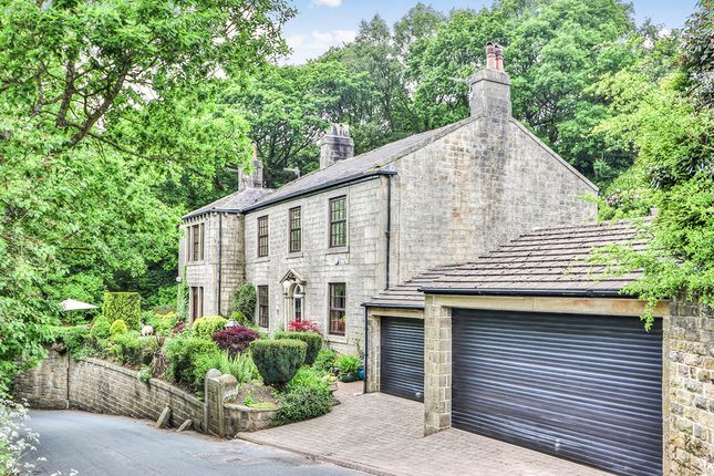 Thumbnail Detached house for sale in Cross Stone Road, Todmorden