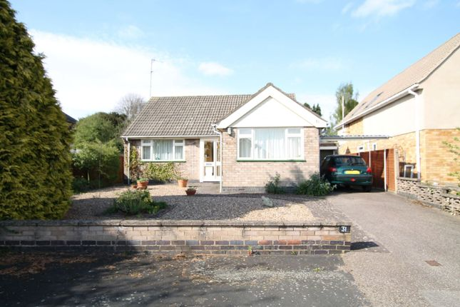 Thumbnail Bungalow for sale in Southernhay Close, Stoneygate, Leicester