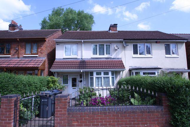 Thumbnail Semi-detached house for sale in Mervyn Road, Birmingham
