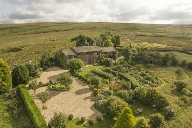 Thumbnail Detached house for sale in Hollingworth Lane, Walsden, West Yorkshire