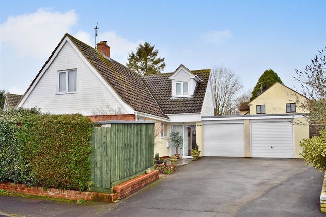 Thumbnail Detached bungalow for sale in Southwell Close, Trull, Taunton