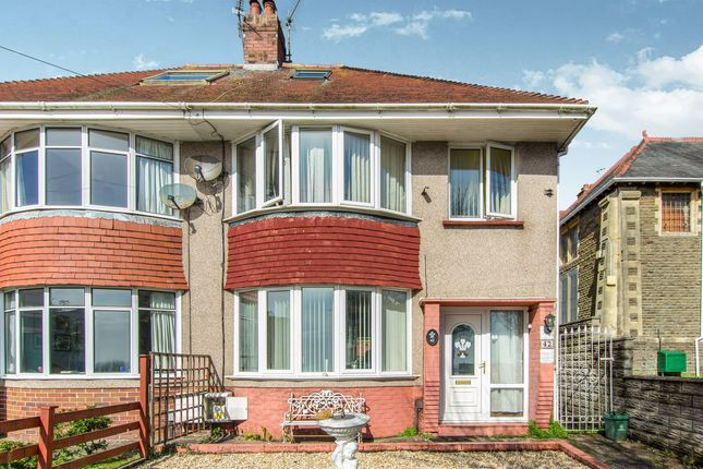 Thumbnail Semi-detached house for sale in St Albans Road, Brynmill, Swansea