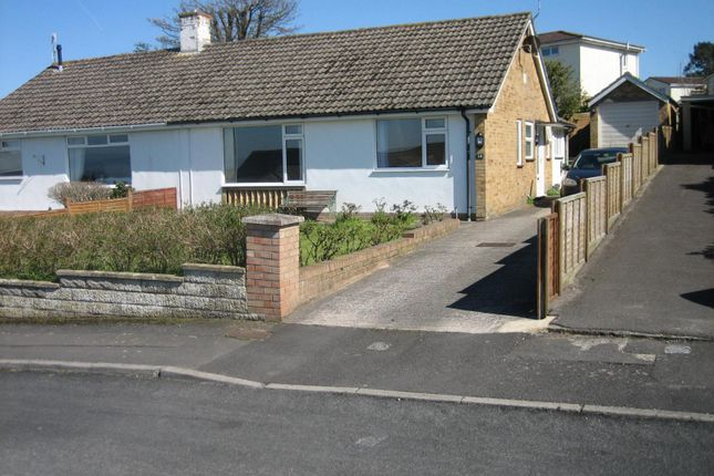 Thumbnail Semi-detached bungalow to rent in Holly Ridge, Portishead, Bristol