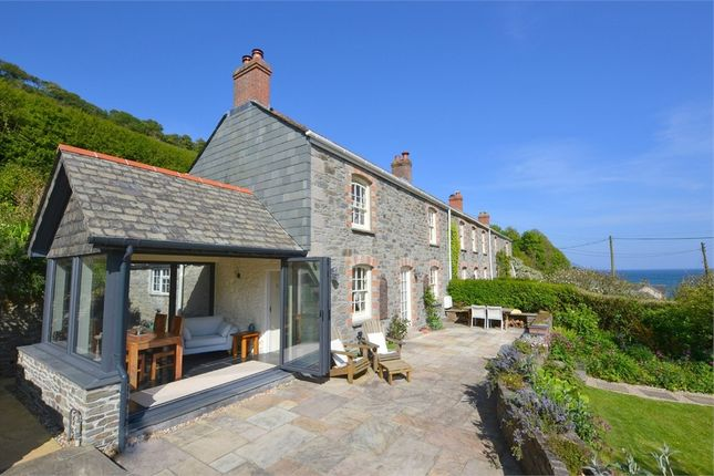 Thumbnail End terrace house for sale in West Portholland, Portloe, Roseland Peninsula