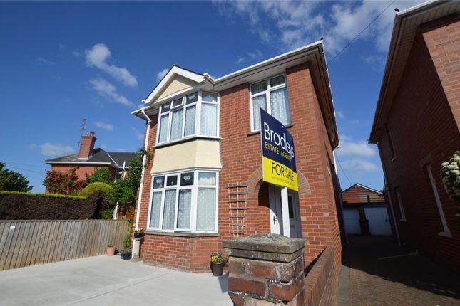 Thumbnail Detached house for sale in 1 Hamilton Road, Topsham, Exeter, Devon