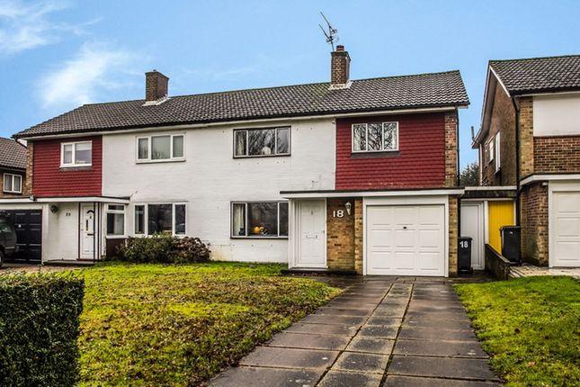 Thumbnail Semi-detached house for sale in Huntingfield, Addington, Surrey