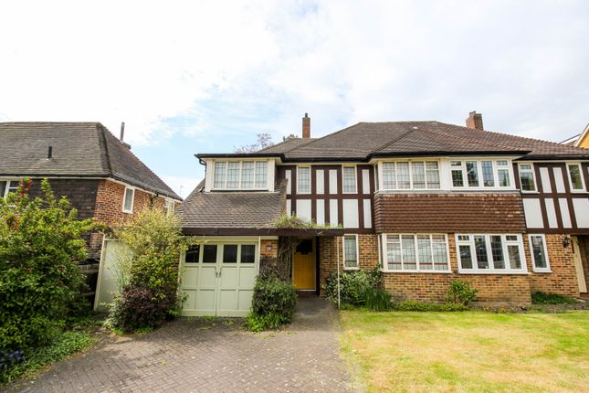 Thumbnail Semi-detached house for sale in Linden Crescent, Woodford Green
