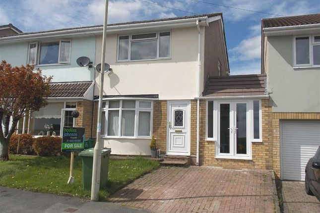 Thumbnail Semi-detached house for sale in St. Andrews Road, Penycoedcae, Pontypridd