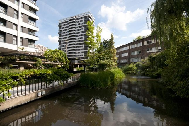 External of The Water Gardens, London W2