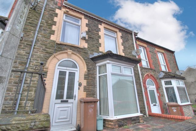 3 bed terraced house for sale in Bradford Street, Caerphilly CF83