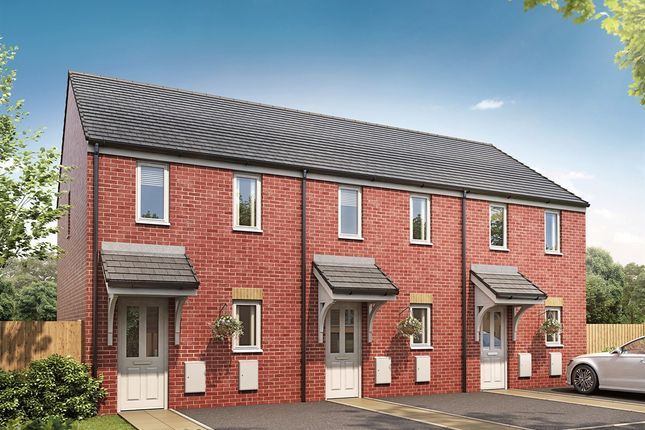 "Terraced house for sale in ""The Morden"" at Brookside, East Leake, Loughborough"