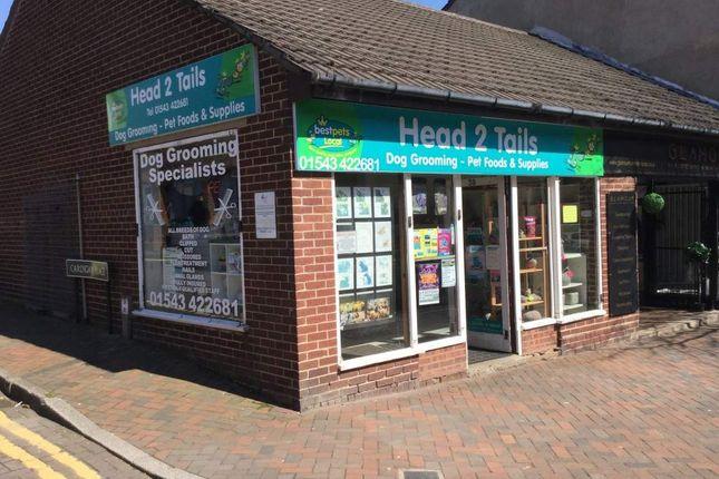 Retail premises for sale in The Pet Shop, Cannock