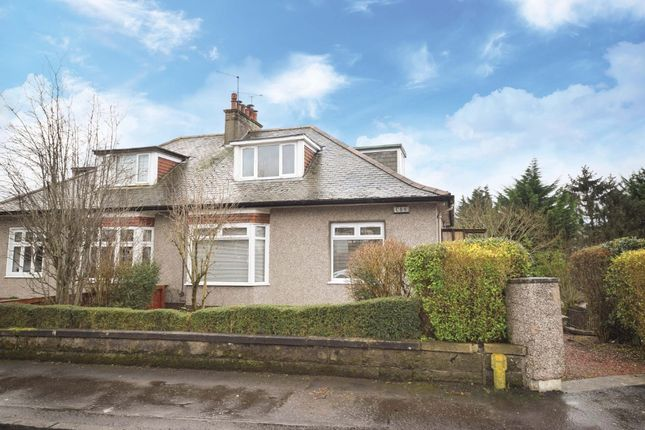 Thumbnail Semi-detached bungalow for sale in Netherpark Avenue, Netherlee, Glasgow