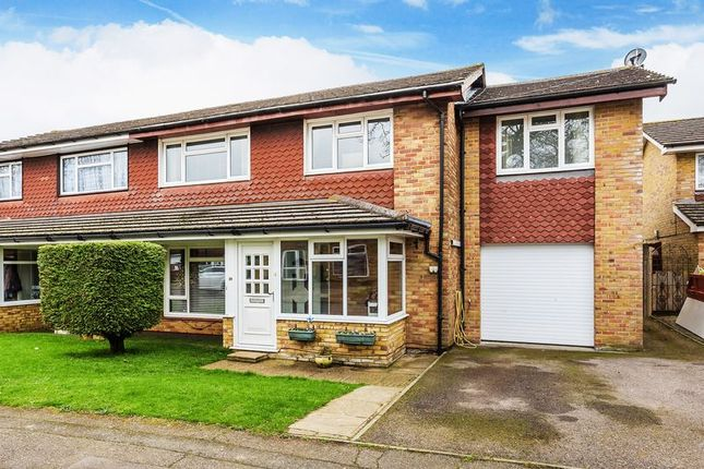 Thumbnail Semi-detached house for sale in Guide Price 570, 000 To 595, 000.....Deans Walk, Coulsdon, Surrey