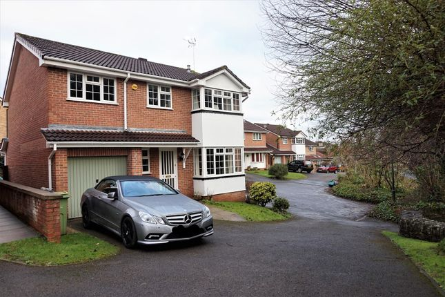 Thumbnail Detached house for sale in Cave Drive, Downend