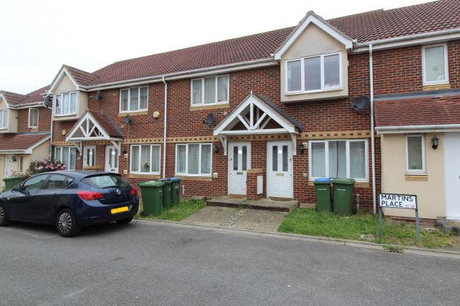 Thumbnail Terraced house to rent in Martins Place, West Thamesmead