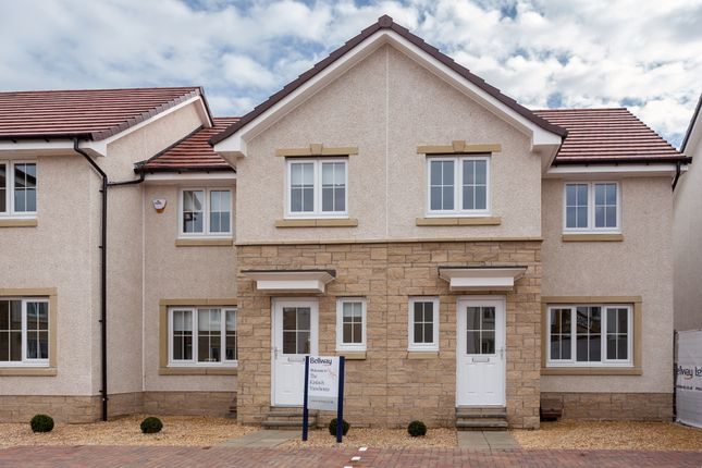 Thumbnail Terraced house for sale in Broxden, Perth